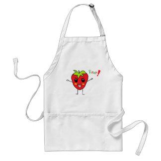 Strawberry Monster Standard Apron