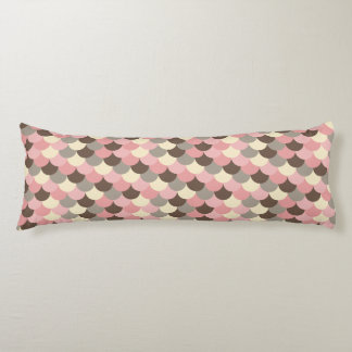 Strawberry Mouse Fish Scale Pattern Body Pillow
