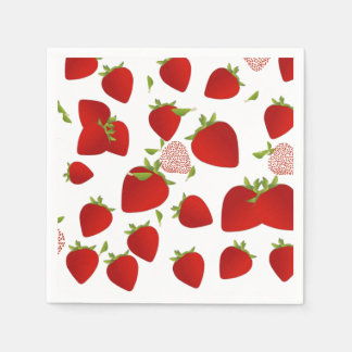 Strawberry Napkin Disposable Napkin