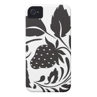 strawberry, nature, abstract, trees, foliage iPhone 4 cover