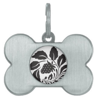 strawberry, nature, abstract, trees, foliage pet tag