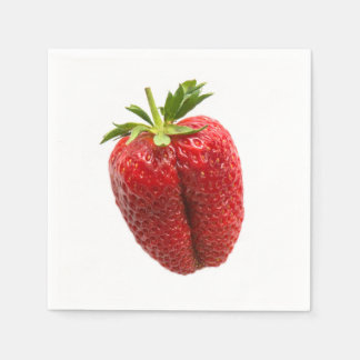 Strawberry Paper Napkins