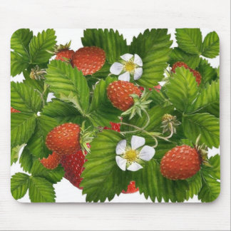 Strawberry Patch Mouse Pad