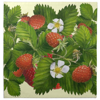Strawberry Patch Napkin