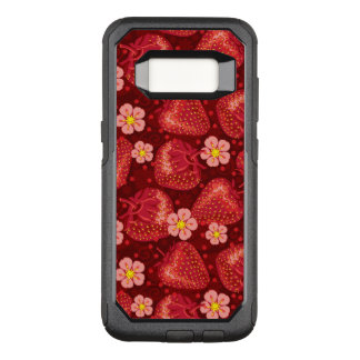 Strawberry Pattern 2 2 OtterBox Commuter Samsung Galaxy S8 Case