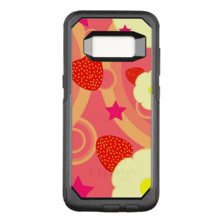 Strawberry Pattern 2 OtterBox Commuter Samsung Galaxy S8 Case