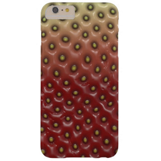 Strawberry pattern barely there iPhone 6 plus case