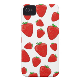 Strawberry pattern Case-Mate iPhone 4 cases