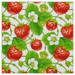 Strawberry Pattern Fabric