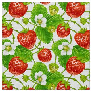 Strawberry Pattern Fabric