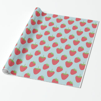 Strawberry Pattern fruit wrapping paper