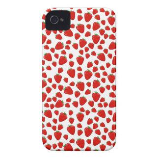 Strawberry  pattern iPhone 4 case
