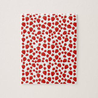 Strawberry  pattern jigsaw puzzle