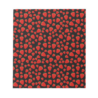 Strawberry  pattern notepads