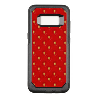 Strawberry Pattern OtterBox Commuter Samsung Galaxy S8 Case