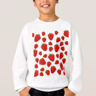 Strawberry pattern sweatshirt