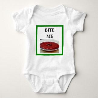 strawberry pie baby bodysuit
