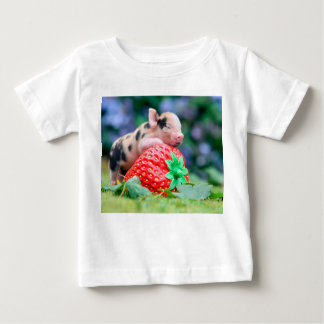 strawberry pig baby T-Shirt