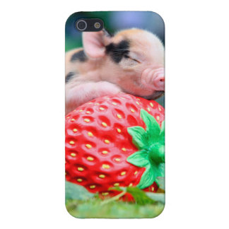 strawberry pig case for iPhone 5/5S