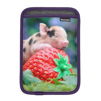 strawberry pig iPad mini sleeve
