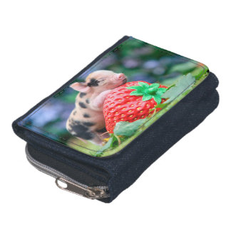 strawberry pig wallets