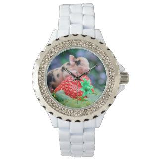strawberry pig watch