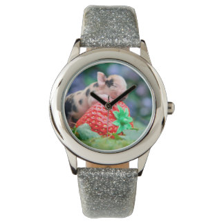 strawberry pig watch