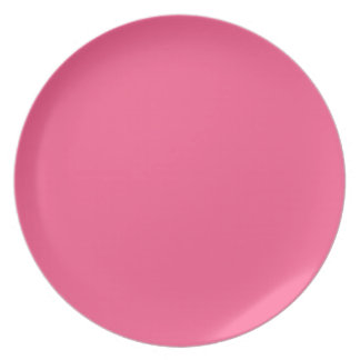 Strawberry Pink Plate