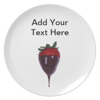 Strawberry Dinner Plates