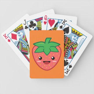 Strawberry Poker Deck