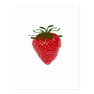 Strawberry: Postcard