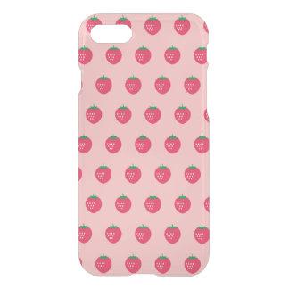 Strawberry Print iPhone 7 Case