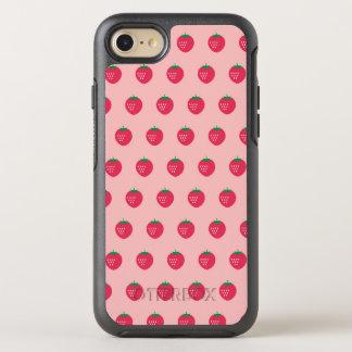 Strawberry Print OtterBox Symmetry iPhone 7 Case