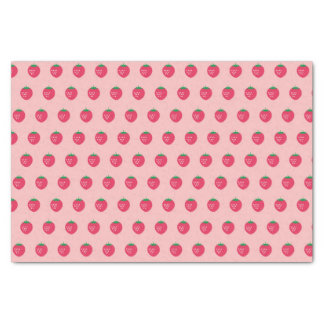 Strawberry Print Tissue Paper