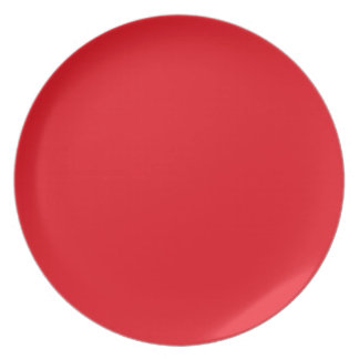Strawberry Red Plate