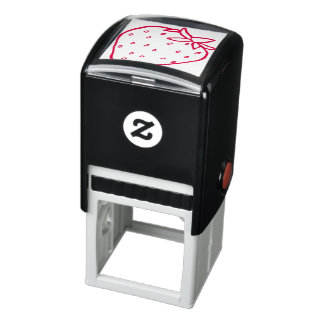 Strawberry Red Self-inking Stamp