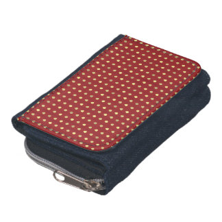 Strawberry Seeds Pattern Wallets