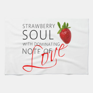 Strawberry Soul Kitchen Towels