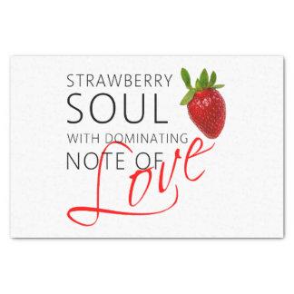 Strawberry Soul Tissue Paper