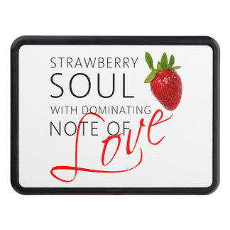Strawberry Soul Trailer Hitch Cover