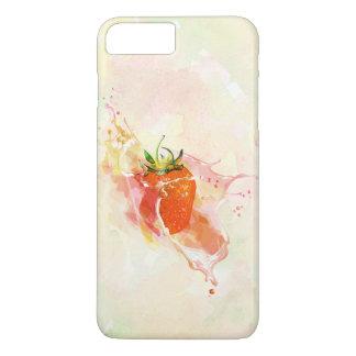 Strawberry Splash! Watercolor iPhone 8 Plus/7 Plus Case