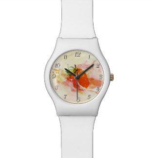Strawberry Splash! Watercolor Watch