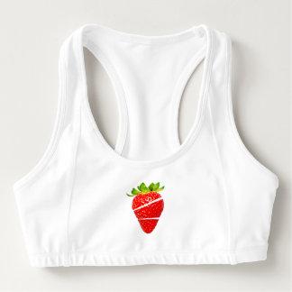 Strawberry Sports Bra