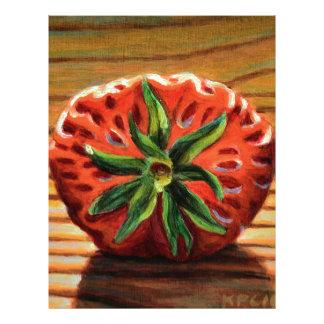 Strawberry Star Letterhead