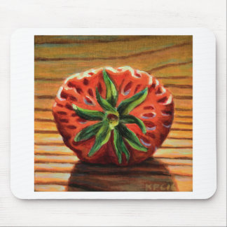 Strawberry Star Mouse Pad