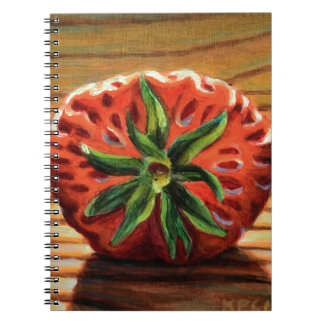 Strawberry Star Notebook