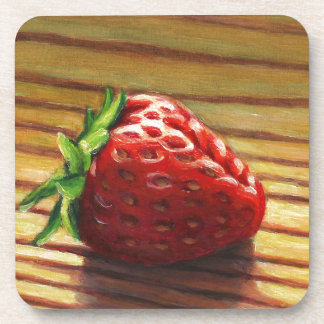 Strawberry Stripe Coaster