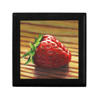 Strawberry Stripe Gift Box