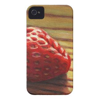Strawberry Stripe iPhone 4 Cases