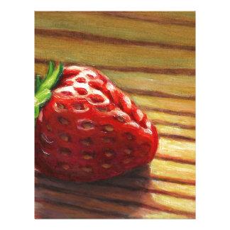 Strawberry Stripe Letterhead